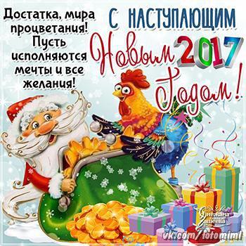 Год Петуха 2017 Новый Год