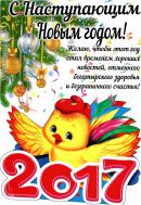 Год Петуха! С наступающим Новым годом!