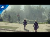 NieR: Automata - Exploring Earth's Distant Future Gameplay Video | PS4