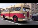 Ретро автобусы в Москве Лиаз 677 звук бутылок