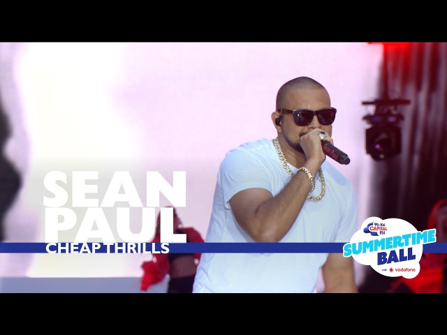 Sean Paul 'Cheap Thrills' Live At Capital's Summertime Ball 2017