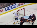 Aberg scores diving goal after Rinne makes a flurry of saves
