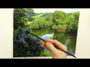 What Brushes To Use For Landscape Painting Oil Painting Tutorial