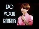 EXO 엑소 Vocal Ranking (2016)