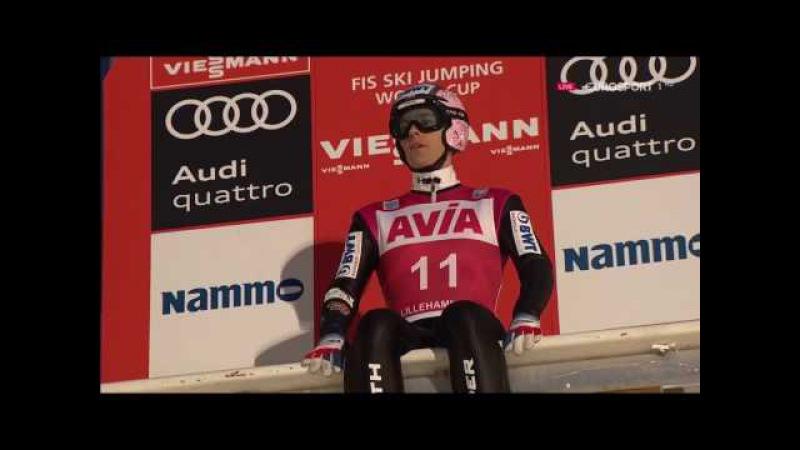 Прыжки на лыжах с трамплина 2016 2017 Лиллехаммер Норвегия HS 138 Мужчины Квалифика...
