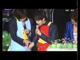 Fancam SS501 Kim Hyung Jun and Park Jung Min - Sandwich making + BoBo 100801