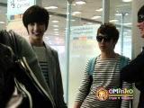 Fancam 2011.04.19 Kim Hyung Jun &amp Park Jung Min arrived Suvarnnabhumi Airport~ Part 4