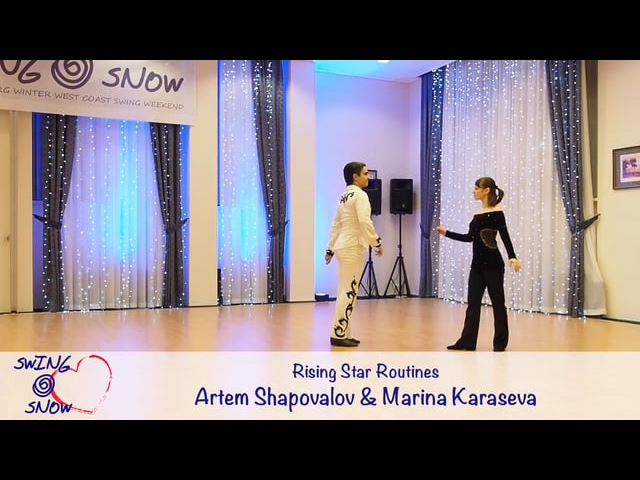 [2017] [SwingSnow] [Rising Star Routines] [Final] Артём Шаповалов - Марина Карасёва