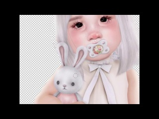 Second Life SpeedArt - Poppy