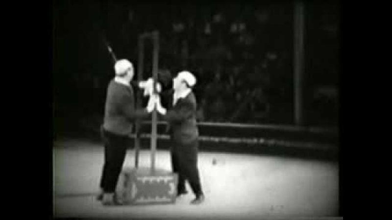 Девяткин и Кружков клоунада зеркало. Devyatkin and mugs clowning mirror