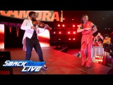 Two-time NXT Champion Shinsuke Nakamura debuts on SmackDown LIVE SmackDown LIVE, April 4, 2017