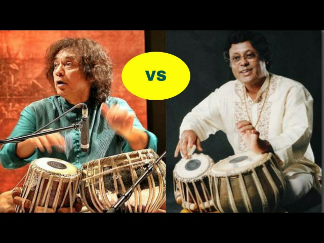 Zakir hussain or Anindo chatterjee tabla.who is your favourite