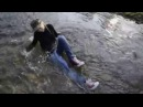 Wetlook - Kelevra fully clothed in river (with red Converse)!