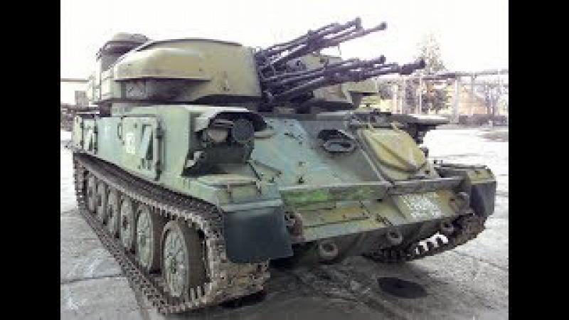 Внутри ЗСУ-23-4 Шилка