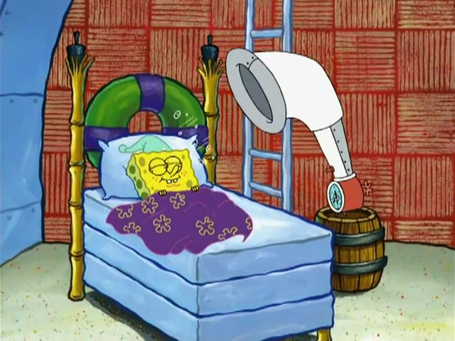 New alarm clock Spanch Bob from Prodigy (good morning Squidward)