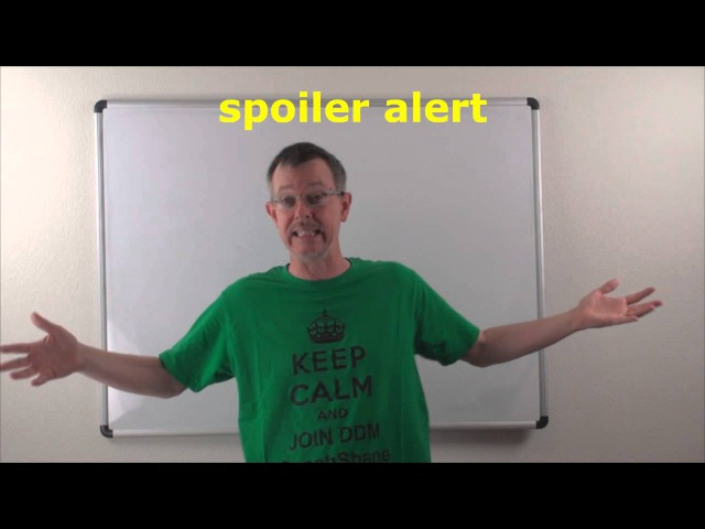 Learn English Daily Easy English Expression 0729 spoiler alert