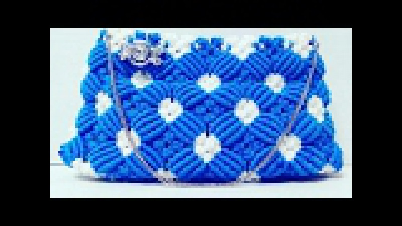 How to make macrame Ladies clutch purse very Easy