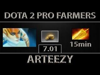 Arteezy Naga Siren Fast Farm ► I'M DONE ► Dota 2 [7.01]