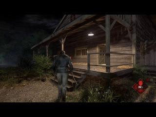 Новый видео ролик геймплея в хоррор игре The Friday the 13Th: the game
