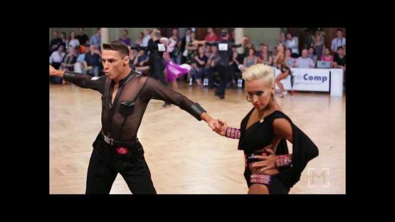 Marius Andrei-Balan - Khrystyna Moshenska | danceComp Wuppertal 2017 - WDSF WO LAT - R2 S