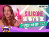 Best Rabbit Vibrator - Silicone Bunny Vibe, Slimmer, Pink, Perfect for G-Spot &amp Clit