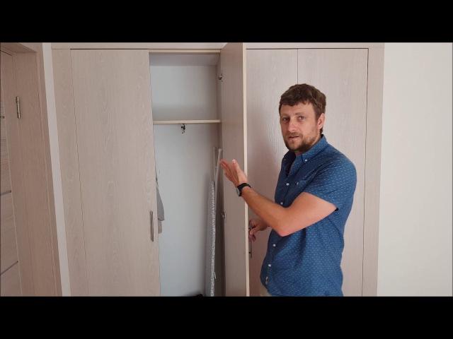 Шкафы купе и кухни в Сочи и Адлере, отзыв клиента, завершённый объект, Азбука Ремонта Сочи.