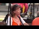 Ведическая музыка Кришнаиты поют на улице Street Musik Song КЛАСС