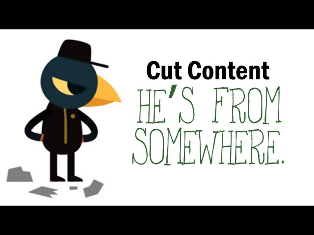 [Cut Content] Night in the Woods - He's from somewhere.