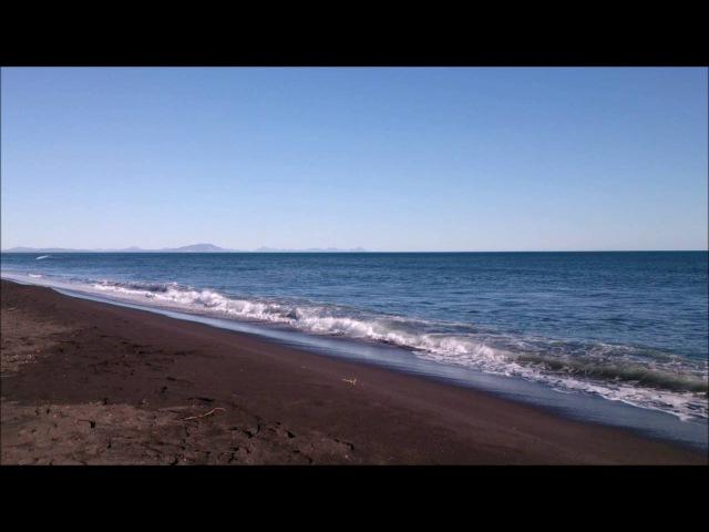 Тихий океан Халактырский пляж Камчатка Pacific Ocean