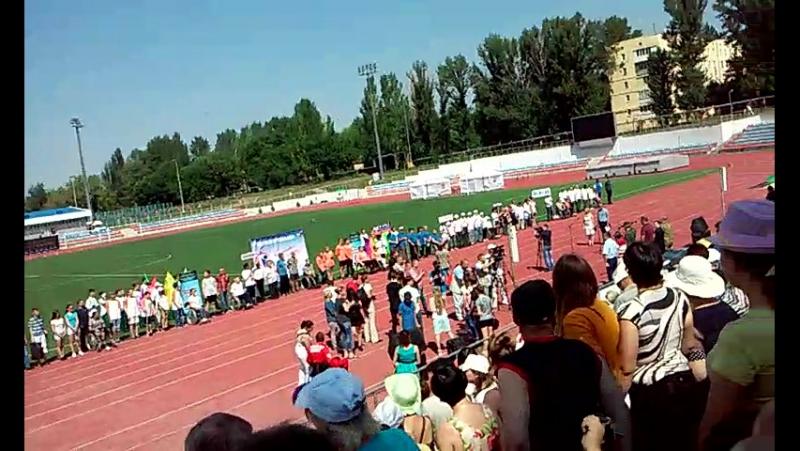 Параспартакиада в Донецке участвует команда Харцызского городского общества инвалидов Искра фильм 5