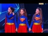 Танцы на ТНТ(Дети) - Настя Волкова, Вика Галикбарова и Вика Феколина 10.12.16