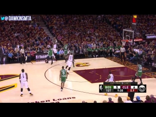 LeBron James Full Play in 2017 ECF Game 3 vs Celtics - 11 Pts, 6 Ast, 4-13 FGA, 6 TO All Included!