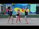 Детский лагерный танец Waka Waka от Лены Марины и Ксюши (Звездный-2015)