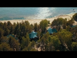 Дом у моря с высоты птичьего полета