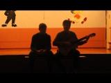 Ян Мещеряков и Даниил Мясоедов (Армейские песни - Обычный автобус)