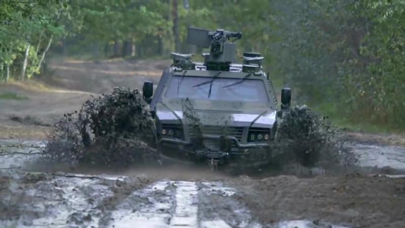 Rheinmetall Defense KMW - Бронированная Multi-Purpose Vehicle [1080p]