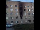 Пожар в общежитии на Твардовского