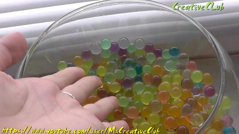 Чудо шарики, растущие в воде - Гидрогель - Как вырастить