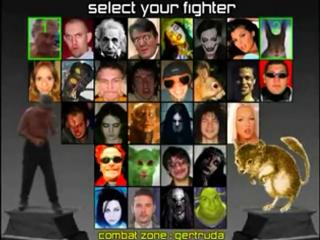 Mortal Kombat Бухарь vs. Белка