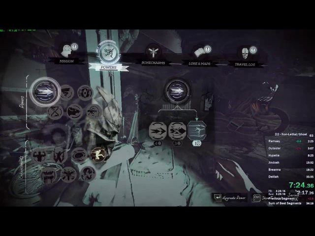 Dishonored 2 - Corvo Non-Lethal/Ghost Speedrun in 34:05