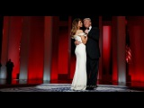 На балу в день инаугурации Трамп с женой станцевали под песню Фрэнка Синатры