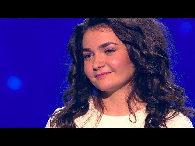 Дробыш хотел нажать еще до того, как она запела! Даша из Минска получила 4 «Ты супер!» и овацию зала