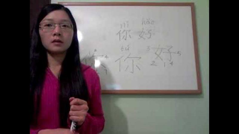Clase de Chino en Español Básico 2 - Consonantes Trazos