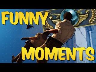CS GO FUNTAGE #17 - Global Elite Adventures & CS:GO Funny Moments