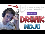 How To Get Banned On Twitch (Drunk Mojo 3.0 CSGO Funny Moments)