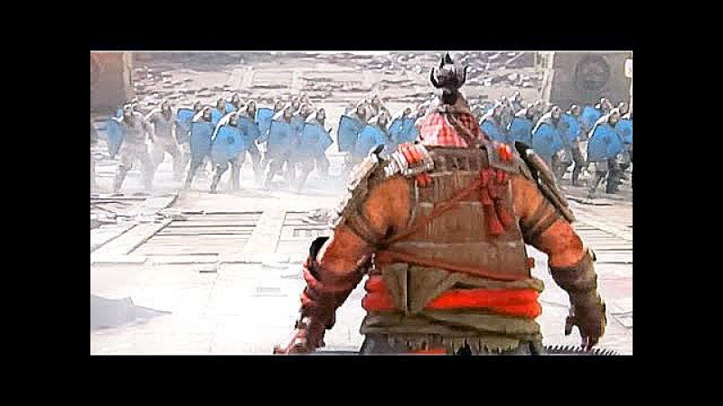FOR HONOR ALL Heroes Class Gameplay Trailers (Samurai / Viking / Knight Factions) 2017