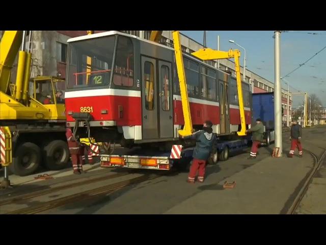 Tramvaje T3 a T6A5 na Ukrajinu | Klub záchranců MHD