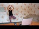 Бабушка и йога прикол Granny yoga joke