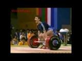 Angel Guenchev (-67,5 kg) snatch 160 kg clean and jerk 202,5 kg