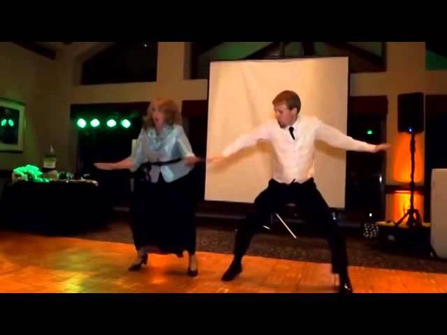 Mother Son Dancing Duo PreventDisease com Facebook